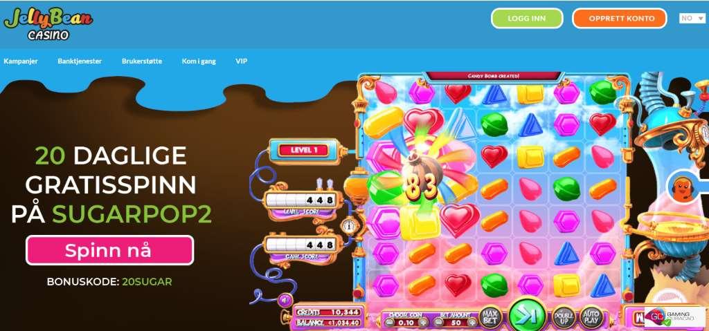 Jellybean casino skjermbilde