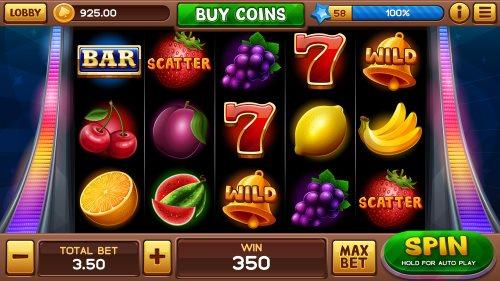 En spilleautomat