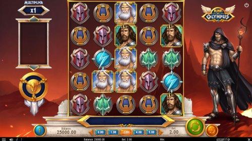 Rise of Olympus spilleautomat skjermbilde