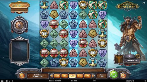 Viking Runecraft spilleautomat skjermbilde
