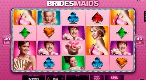 Bridesmaid spilleautomat skjermbilde