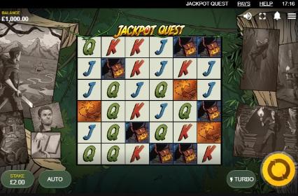 jackpot Quest spilleautomat skjermbilde