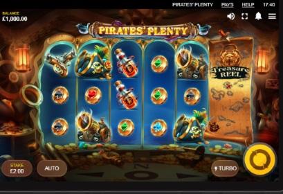 Pirates' Plenty spilleautomat skjermbilde