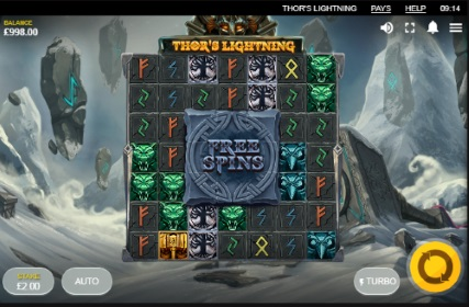 Thor's Lightning spilleautomat skjermbilde