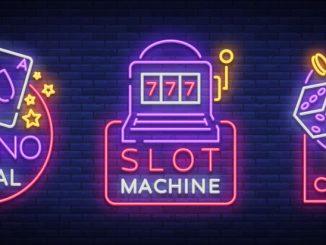Casinoikoner i neon