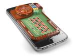 Mobiltelefon med rulett