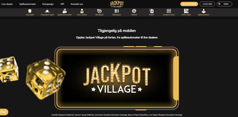 Jackpot Village Lobby