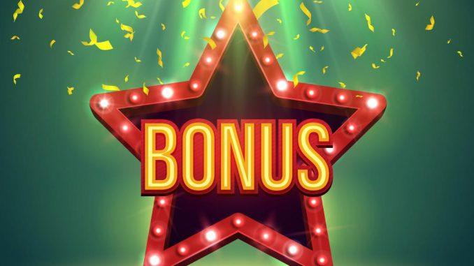 Bonus symbol som en stjerne