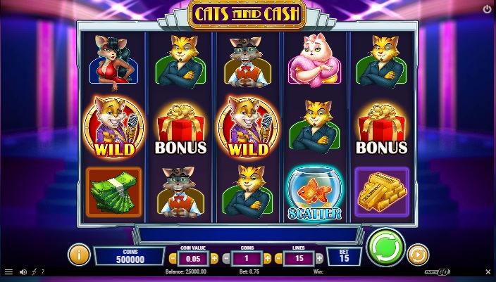 Cats and Cash skjermbilde