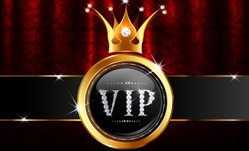 VIP-krone med diamanter