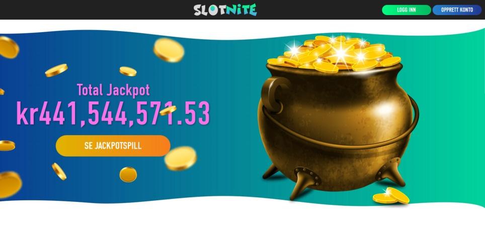 Slotnite bonus uten inskudd  skjermbilde